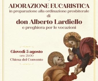 Adorazione Eucaristica 5 Agosto