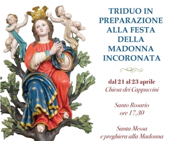 Triduo Madonna Incoronata 21-23 Aprile