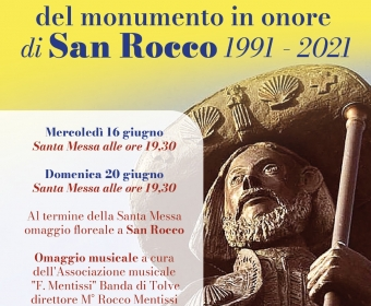 30° Anniversario Monumento S. Rocco