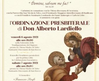 Ordinazione Presbiterale Don Alberto Lardiello